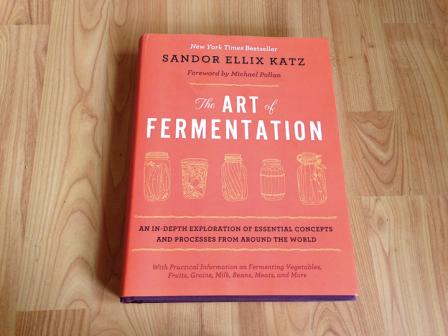 photo pf sandor katz' book the art of fermentation